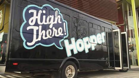 Pot Party Bus Services - The 'High There Hopper' Will Shuttle Tourists Between Dispensaries