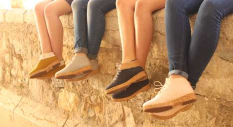 Sustainable Cork Footwear - These Vegan-Friendly Shoes are Made from Organic Cotton and Cork