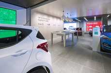 Digital Automobile Shops - The Rockar Hyundai Store Boasts a Digitally Enhanced Sales Concept