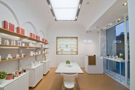Garden-Inspired Beauty Shops - This Guangzhou Store is a European-Inspired Beauty Experience