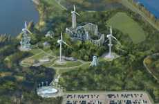 Wind-Powered Amusement Parks - This Exceptional Eco Theme Park Teaches Visitors About Sustainability