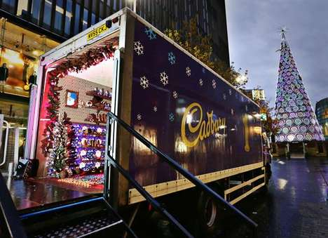 Festive Chocolate-Covered Pop-Ups - The Cadbury Christmas Grotto is Part of Its UK Advent Tour