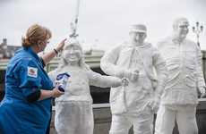 Health-Encouraging Sugar Statues - SodaStream Comments on Healthy Consumption with Statues in London