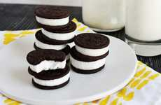 Cookie Cocktail Recipes - These Double-Stuffed Oreo Jello Shots are a Yummy New Year's Eve Treat