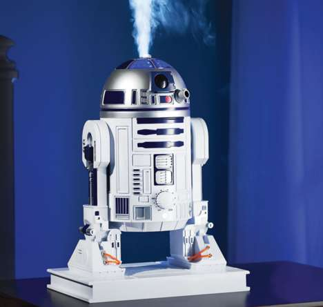 Galactic Droid Humidifiers - The R2-D2 Tabletop Humidifier Keeps Household Air Fresh and Moist