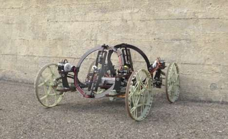 Wall-Climbing Robots - This Wheeled Robot From Disney Can Climb Even Uneven Walls With Agility