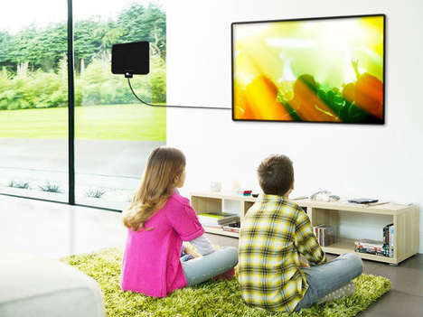 Free HD Content Streaming - The '1byone' Digital HDTV Indoor Antenna Provides Free Cable Channels