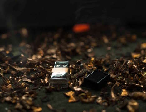 Ice-Inspired USB Drives - The 'Leef Ice 3.0' Copper 64GB Flash Drive is Beautiful and Functional