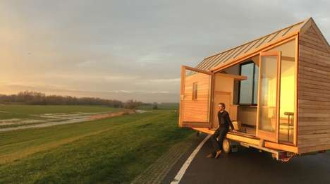 Anti-Debt Housing - The 'Porta Palace' is a Small Mobile Home that Rebels Against Mortgages