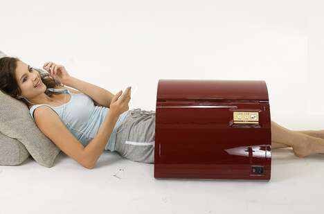 Mobile Infrared Saunas - This Portable Steam Room Provides a Spa ExperienceWhile On-the-Go