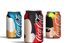 Classic Cartoon Cans