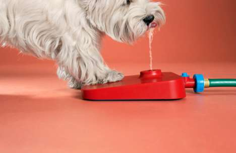 Dog Drinking Fountains - The Pawcet Provides an Easy Way for Pooches to Gain Backyard Hydration