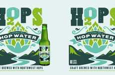 Hop-Infused Waters - This Sparkling Beverage is Infused with the Natural Flavor of Hops
