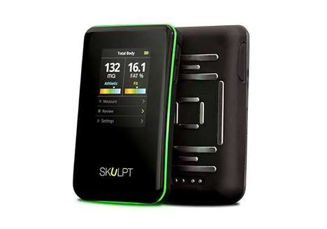 Muscle-Measuring Devices - The 'Skulpt Chisel' Measures a User's Body Fat and Muscle Quality