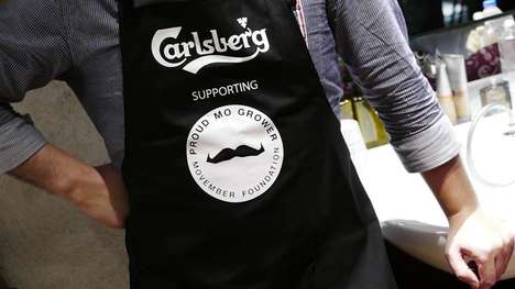 Co-Branded Grooming Events - The Carlsberg Ted Baker Event Celebrated the End of Movember