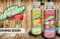 Refreshing Hemp-Based Beverages - These Flavored Juices are Made with Hemp Protein