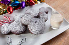 Gingerbread Disney Donuts - These Mickey Mouse Beignets Feature a Festive Holiday Flavor