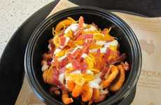 Condiment-Loaded Frites - The Arby's Loaded Curly Fries are Packed with a Slew of Rich Toppings