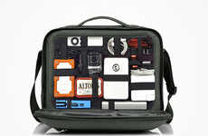 Compartmentaliezd Gadget Backpacks