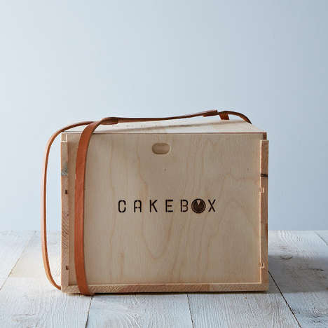 Wooden Cupcake Transporters - The CakeBox is Perfect for Transporting a Cake or Cupcakes