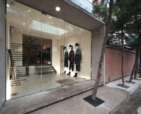 Chic Fashion-Forward Boutiques