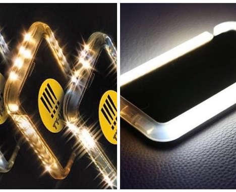 Selfie-Lighting Phone Cases