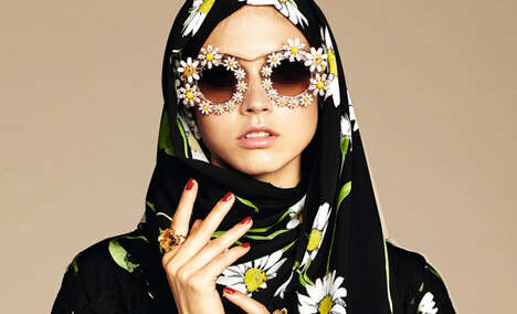 Middle Eastern Couture Collections - The Dolce & Gabbana Abaya Collection Targets Arabic Consumers