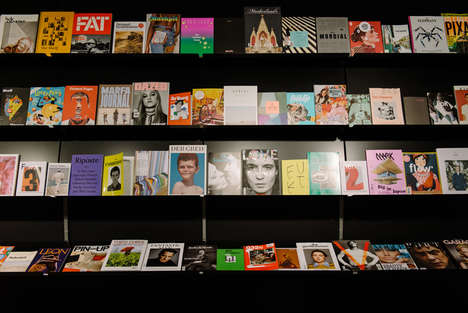 Editorial Subscription Shops - The magCulture Brick-and-Mortar Store Recently Opened in London