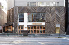 Rustic Americana Concept Stores - The CPCM Store in Harajuku is Covered in Reclaimed Wood