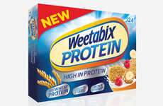 Protein-Enriched Breakfast Cereals - This High Protein Cereal is Designed for Active Consumers