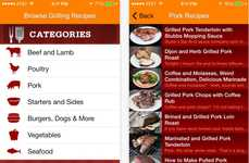 Grilling Recipe Apps - Grill-it! Inspires Foodies with a Library of Categorized Meal Ideas