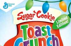 Holiday Cookie Cereals