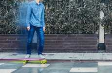 Smatphone-Controlled Electric Skateboards - The 'Blink-Board' Was Recently Unveiled at CES 2016