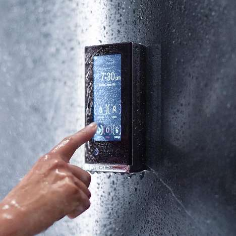 Digital Shower Devices - The Kohler DTV+ Digital Shower Interface Promotes Customized Showers