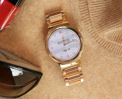 Rose Gold Smartwatches