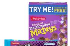 Marshmallow Dessert Cereals - Malt-O-Meal's Chocolate Marshmallow Mateys Satisfy One's Sweet Tooth