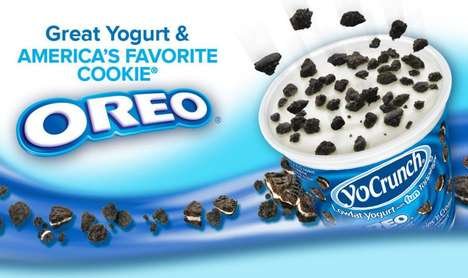 Low-Fat Dessert Yogurts - YoCrunch Yogurt is Infused With Familiar Confections