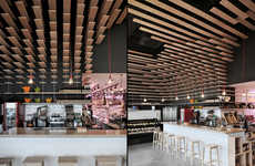 Futuristic Fresh Food Shops - This Madrid Food Shop Only Sells Bread, Fish and Meat