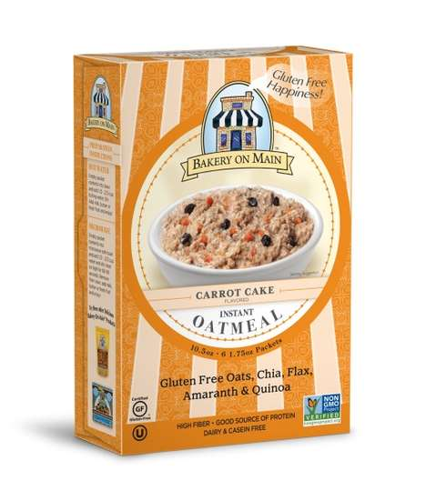 Cake-Inspired Oatmeals - Bakery on Main's Instant Oatmeal Turns Dessert Flavors Into Breakfast