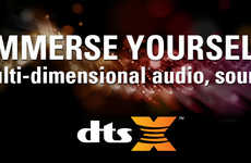 Adaptive Audio Systems - The 'DTS:X Immersive Audio' System Will Be Unveiled at CES 2016