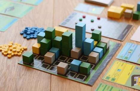 Urban Planning Board Games - CitiesUP Allows Participants to Buy and Build Neighborhoods