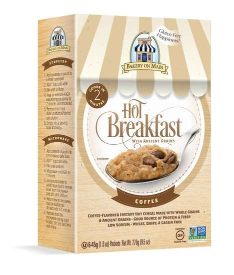 Coffee-Flavored Oatmeals - This Flavored Oatmeal Channels the Taste of 'Hot Breakfast Coffee'