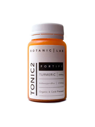 Fortified Spice Tonics - The Tonic2 Promotes a Healthy Dose of Turmeric for Healthy Body Function