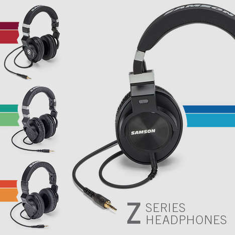 Precision Sonic Headphones - Samson's Z Series Headphones are Coming to CES 2016