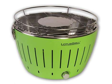 Colorful Outdoor Grills - This Compact BBQ is Perfect for Consumers with Limited Outdoor Space