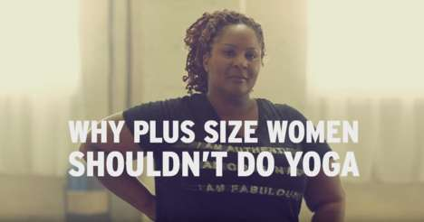 Empowering Yoga Commercials - Penningtons' Plus-Size Yoga Video Shuts Down Stereotypes