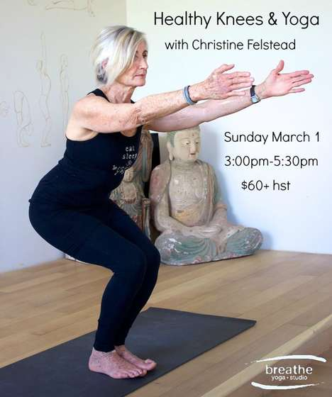 Boomer-Targeted Yoga Classes - The 'Breathe Yoga Studio' Offers Special Classes for Boomer Women