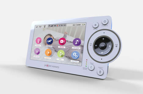 WiFi-Free Baby Monitors - The Project Nursery Baby Monitor Just Made Its Debut at CES 2016