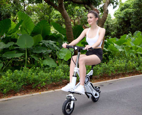 Collapsible Electric Scooters