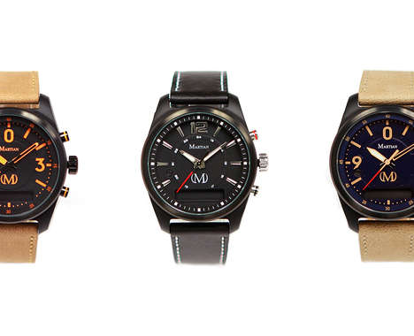 Discreet Analog Smartwatches